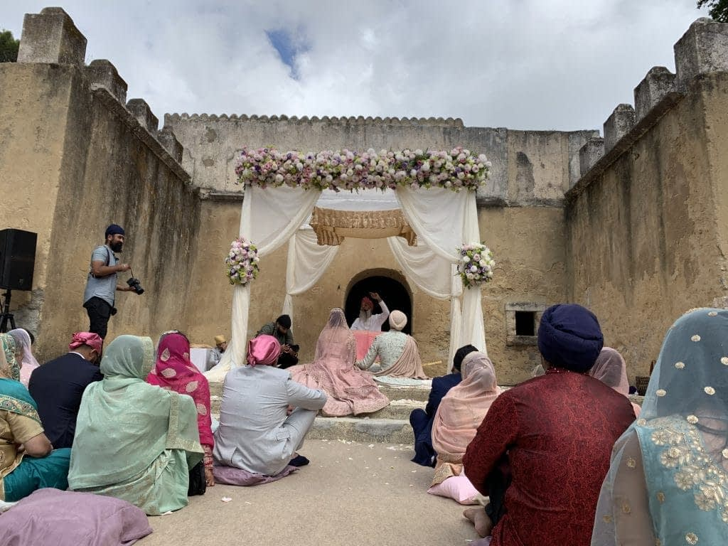 indian sikh wedding