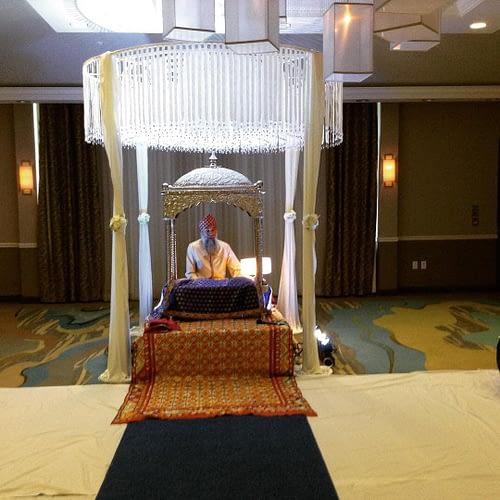 About Palki and Mandap for Sikh Weddings outside gurdwaras